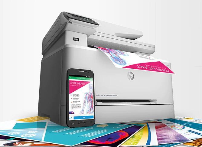 HP LaserJet商用激光打印机与多功能一体机